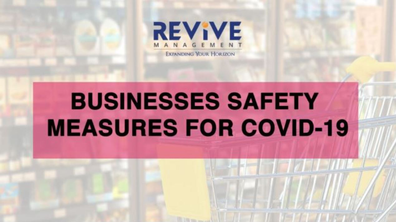 Businesses Safety Measures for COVID-19