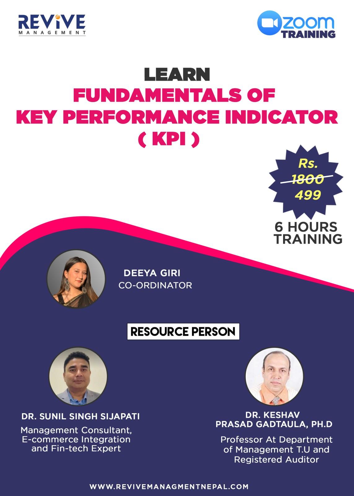 Fundamentals Of Key Performance Indicator